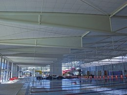 Kwikloc aluminium ceiling system keeps corrosion at bay at Alice Springs Aquatic Centre