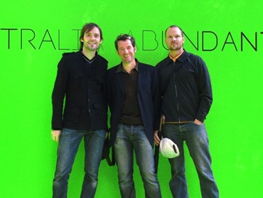 From left to right: Tobias Wallisser, Alexander Rieck, Chris Bosse