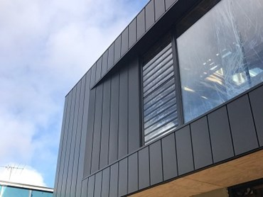 Canterbury home extension with Archclad Express panels
