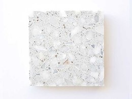 New aggregate in Covet's terrazzo overlay palette is whiter than white