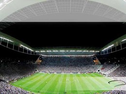 Dyson hand dryers meet function and design goals at the Arena Corinthians in Brazil