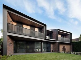 Heritage look contemporised for Armadale home with Krause Emperor bricks