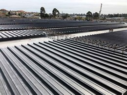 Big River Group begins massive steel decking project in Sydney