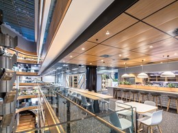 Armstrong Ceilings deliver world-class ceiling design for Darling Park