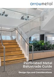 Perforated metal balustrade guide: Design tips and considerations
