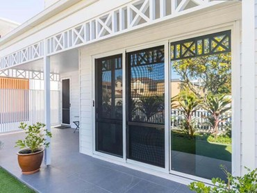 The Ascot house featuring Invisi-Gard security screens