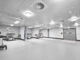 Altro XpressLay meets challenging timeframe for temporary COVID clinic