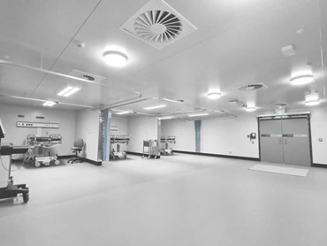 Altro XpressLay at the COVID-19 Surge Centre in Canberra