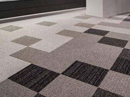 Carpet tiles complement Atwell optometrist's fashionable collections