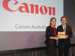 Canon's environmental commitment recognised with a Gold Partner Award