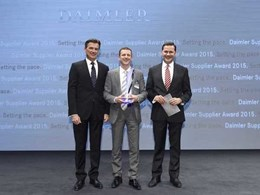 Axalta Coating Systems wins Daimler Supplier Award for quality performance