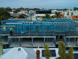 SBS steel framing replaces structural steel at Hampton Vic apartments