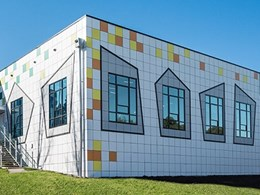 ExoTec facade panels bring tech school building form to life