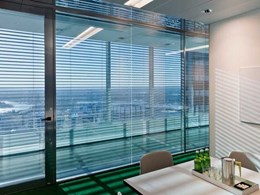 Criterion's Linium 90 partition suite specified for Boston Consulting Group Sydney office fitout