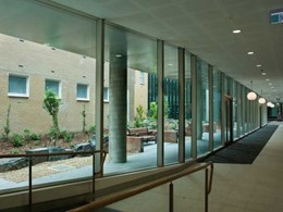 EDGE's MAX range ensuring comfortable interior experience at Ballarat Base Hospital