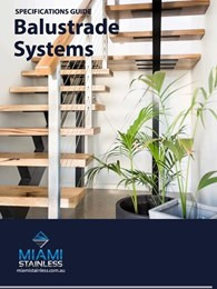 Helpful guide for specifying balustrade systems