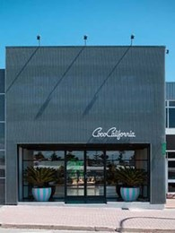 Coco California store modernises frontage with Kaynemaile mesh façade