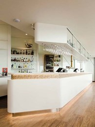 Corian delivers contemporary finish to Battlesticks Bar in Newcastle