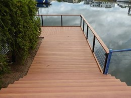 DecoDeck provides comfort underfoot in hot weather at Bayview Marina, Darwin