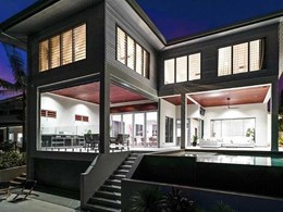 Award-winning Darwin home keeps it cool and stylish with glass louvres and screening