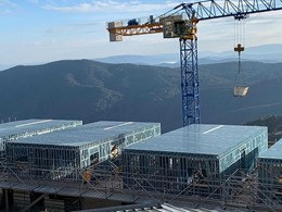 Prefabricated steel framing meets project objectives at Mt Buller apartments