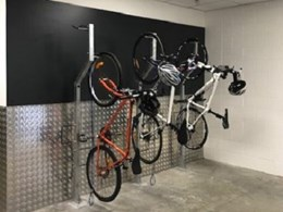 Leda installs bike racks at airports