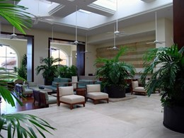 Creating best first impressions with a green hotel lobby