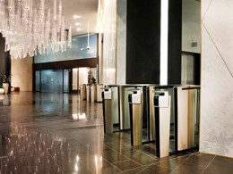 Touchless scanning enhances security for tenants at Dexus' Gateway tower