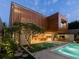Blackbutt timber featured throughout new Perth home