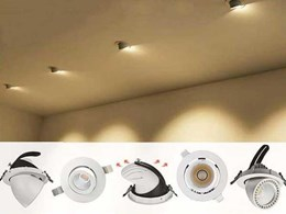 New extendable gimbal downlights from Boscolighting