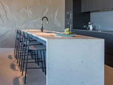 Botanical Apartments - an apartment kitchen featuring a Zip HydroTap