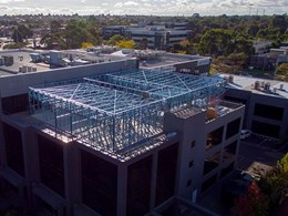 SBS Group uses lightweight steel to create additional level for office building