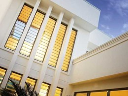 Altair louvres available in Breezway's Innoscreen window system