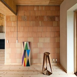 Low-carbon brick house by Danish designers boasts a minimum life span of 150 years