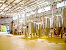 Craft beer maker in Bright chooses antimicrobial flooring for new brewing facility