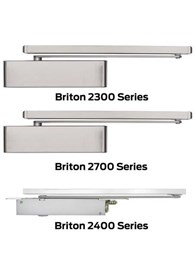 New Briton door closers featuring Cam-Action technology
