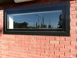 Fire rated windows protect chemical plant office in Brooklyn, Vic