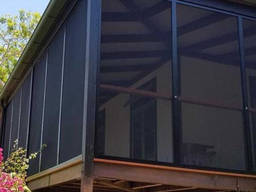 Invisi-Gard security screens at the Buderim home