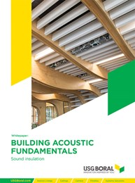 Building Acoustic Fundamentals