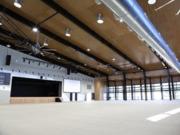 DecorStyle panels provide acoustic control at Bundaberg Multiplex