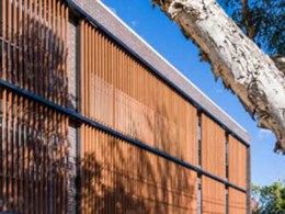 Raise the bar on style with timber look aluminium louvres and screens