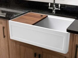 Introducing Italian made Butler sinks for modern kitchens