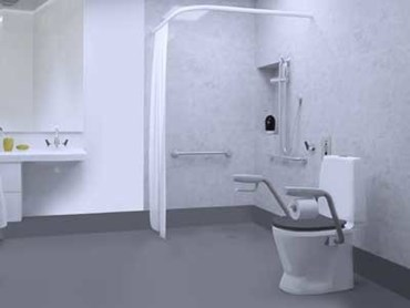 Enware's CARE601 toilet suite