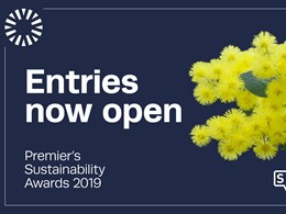 Victorian Premier's Sustainability Awards now open