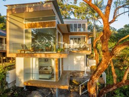Australia's first CLT house