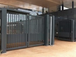 Crash tested speed gates for high security buildings