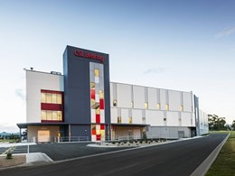 New CSL Behring pharma facility features Askin's XFLAM fire performance panels