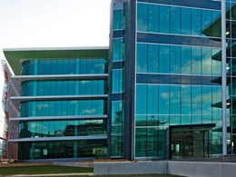 Custom structural glazing solution developed for Canberra airport precinct offices