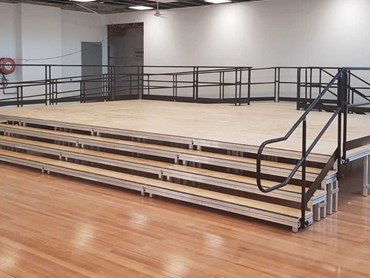 Carlingford Public School QUATTRO Stage, Access Ramp, Front Tiered Steps