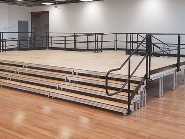 Carlingford Public School QUATTRO Stage, Access Ramp, Tiered Steps